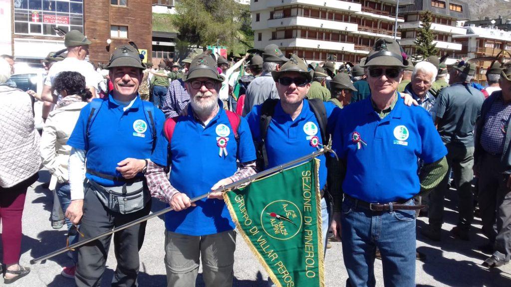 Gruppo Alpini Villar Perosa a Sestriere