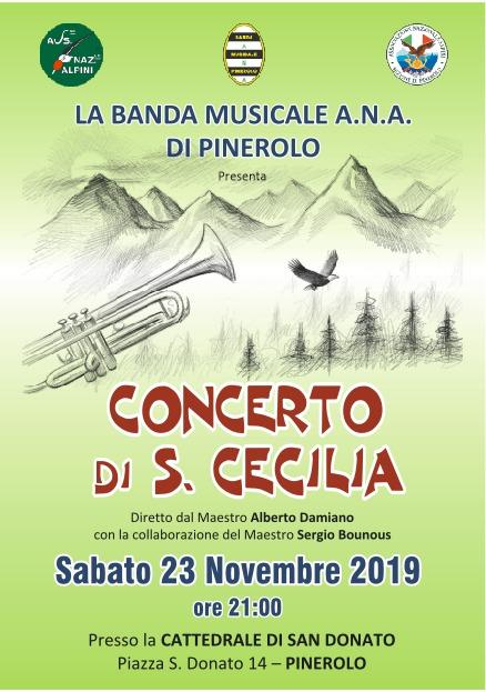 Concerto Santa Cecilia 2019