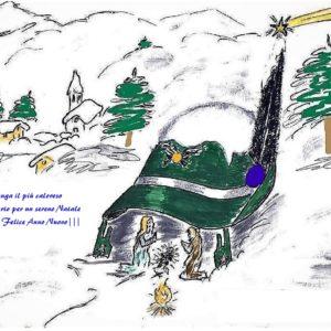 Buon Natale e Buon anno alpini