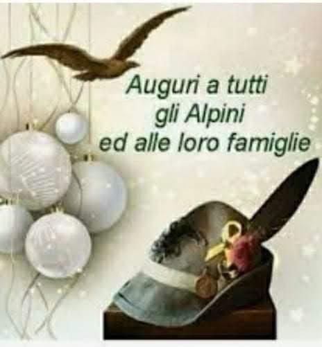 Auguri a tutti gli alpini ed alle loro famiglie