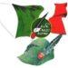 Mascherina Italia e cappello alpino