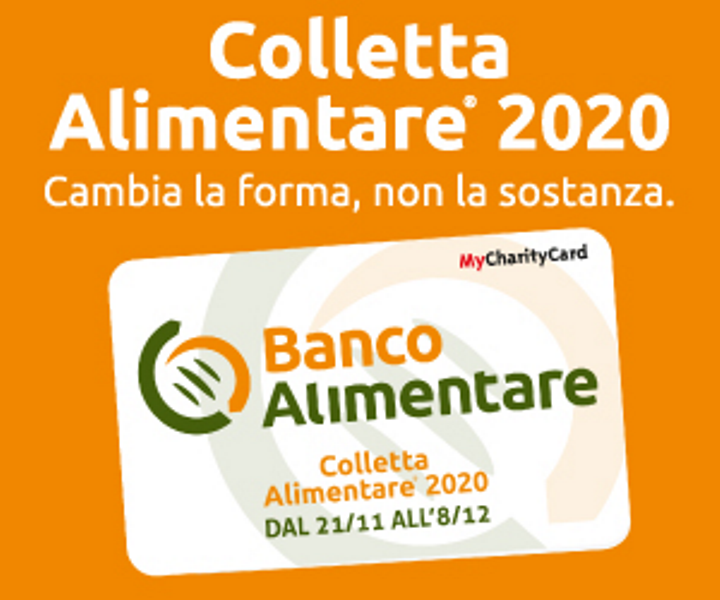Banco alimentare 2020 tessera