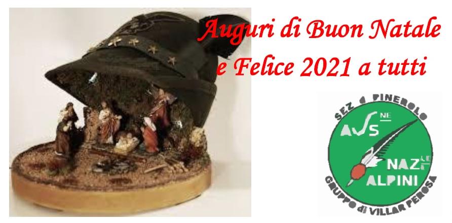 Auguri Gruppo Alpini Villar Perosa 2020