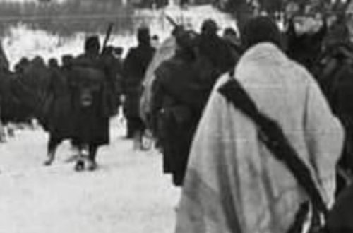 Militari in ritirata alla Campagna di Russia