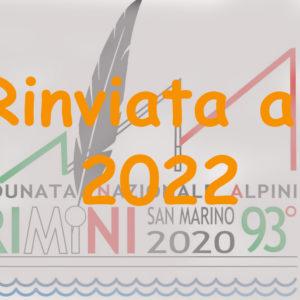 Adunata Rimini Rinviata al 2022
